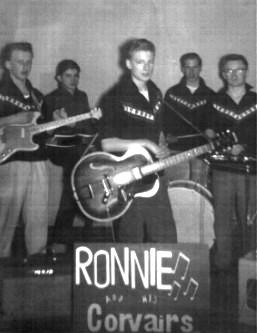 Ronnie And The Corvairs - 1959